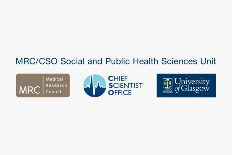 MRC/CSO Social and Public Health Sciences Unit logo